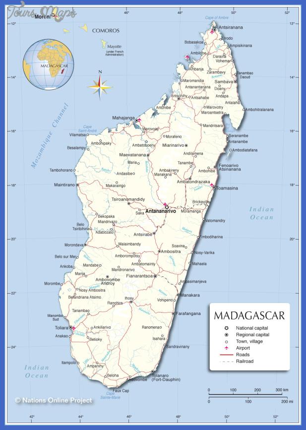 madagascar map Madagascar Map