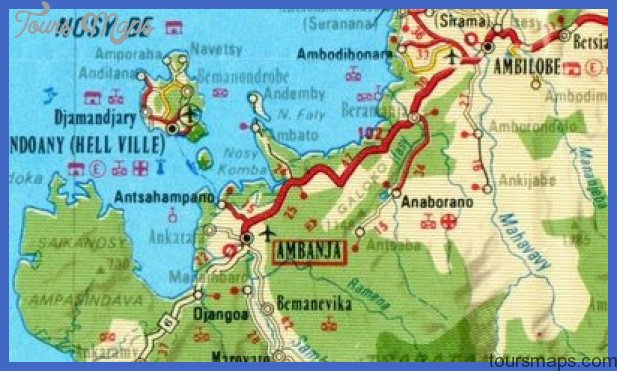 Madagascar Map Tourist Attractions ToursMapsCom – Tourist Attractions Map In Madagascar