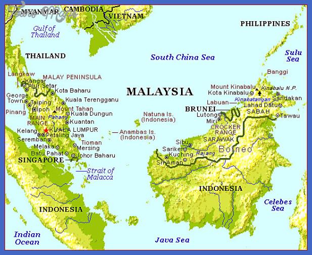malaysia map Malaysia Map