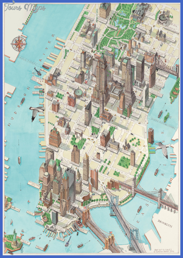 manhattan new york map New York Map