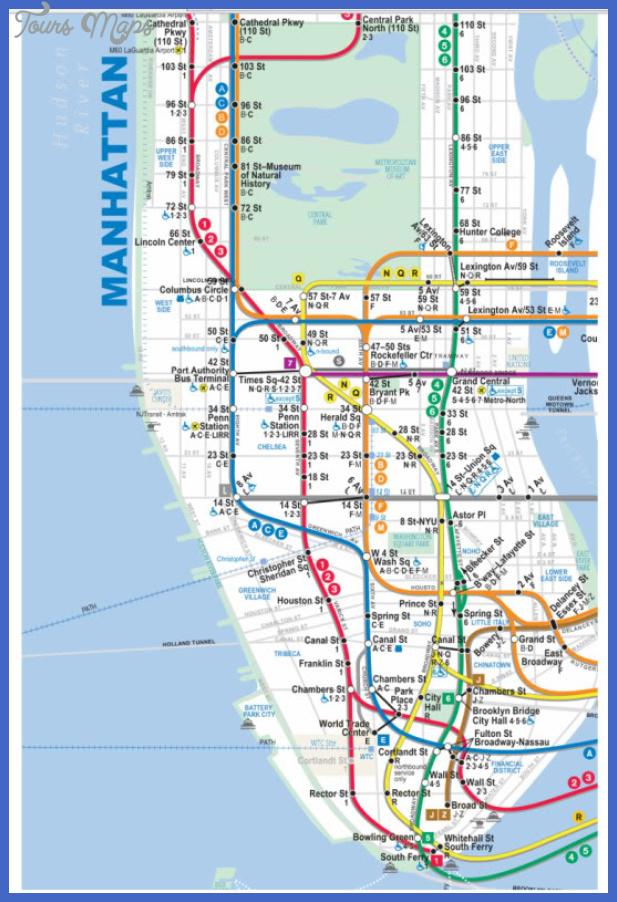 manhattansubwaymap Cleveland Subway Map