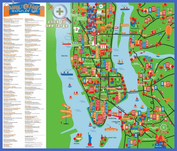 map 0f new york city 4 Map Of New York City