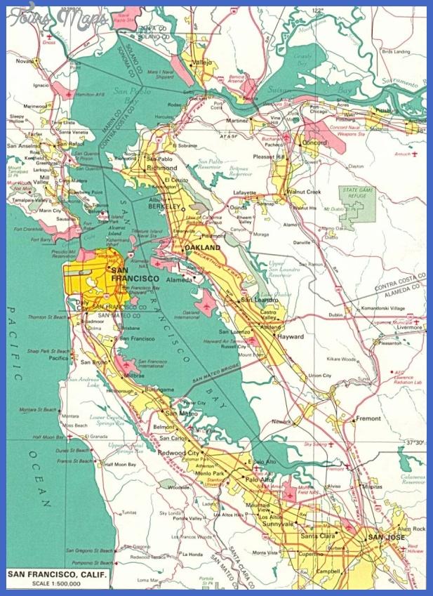 map 10 San Francisco Map