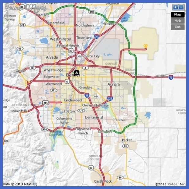 map 11 Aurora Metro Map