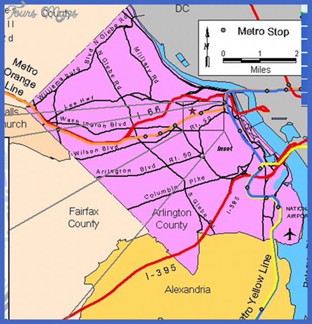 map arlingtonmetro Alington Map