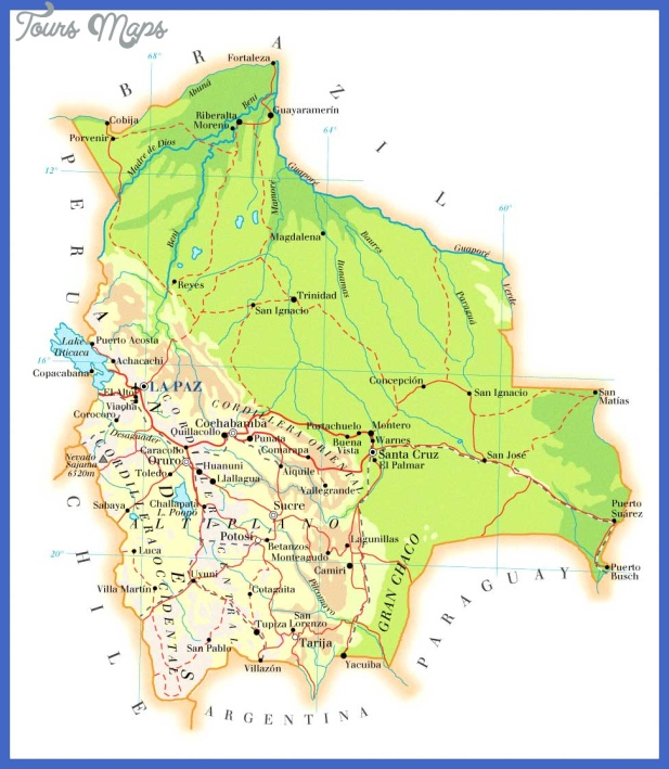 map bolivia Bolivia Map