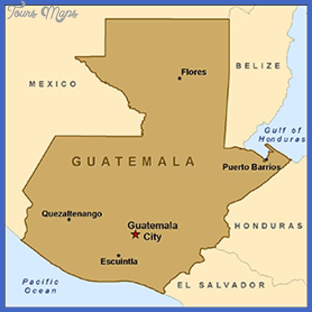 map guatemala Guatemala Map