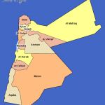 map jordan governorates 150x150 Jordan Map