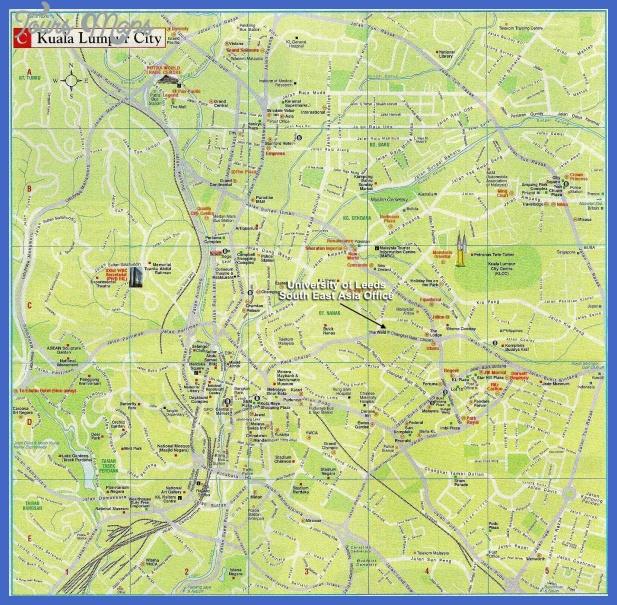 map kualalumpur 2 Kuala Lumpur Metro Map