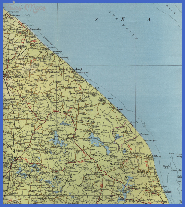 map norfolk Norfolk Map