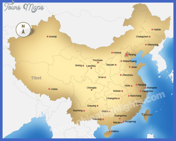 map of china  5 Map of China