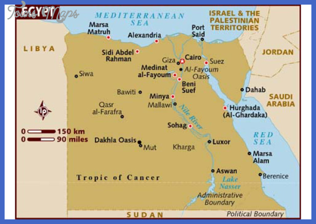 Egypt Map Tourist Attractions ToursMapsCom – Egypt Tourist Attractions Map