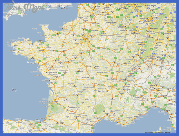 map of france France Map Tourist Attractions