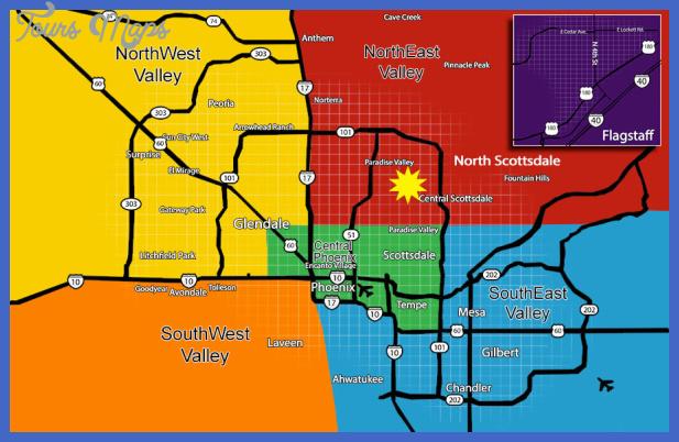 map of phoenix metro area2 Afghanistan Metro Map