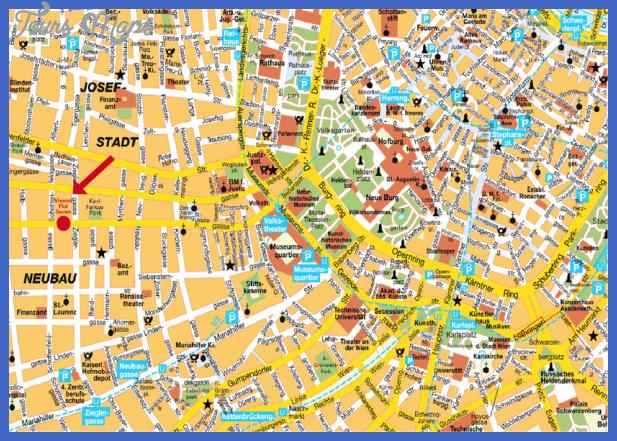 map of vienna Vienna Map
