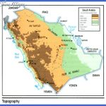 map saudi toppography 150x150 Saudi Arabia Map Tourist Attractions