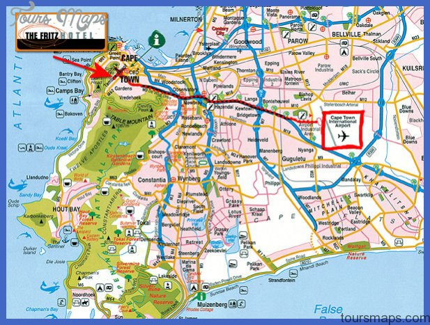 map 1 Cape Town Map