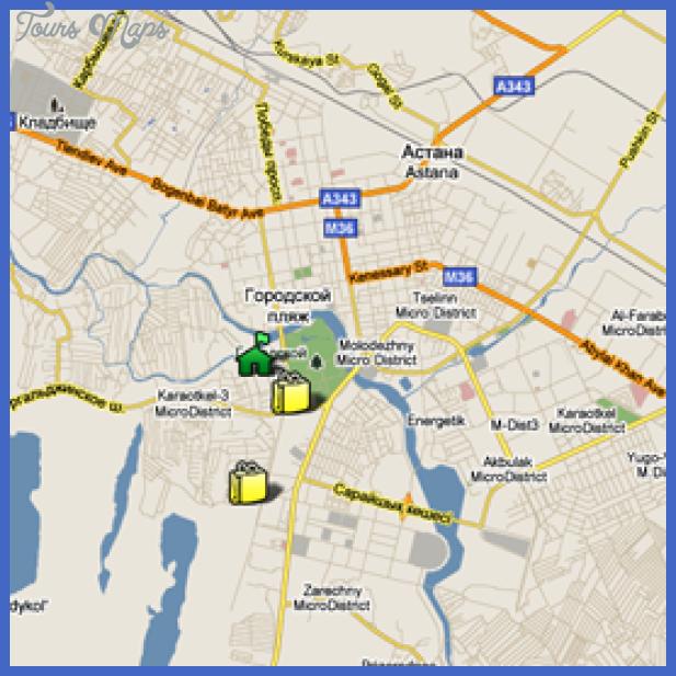 map astana Accra Subway Map