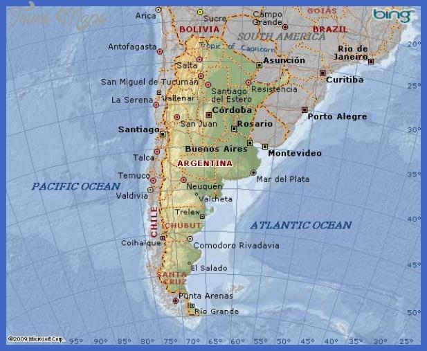map of argentina Argentina Map
