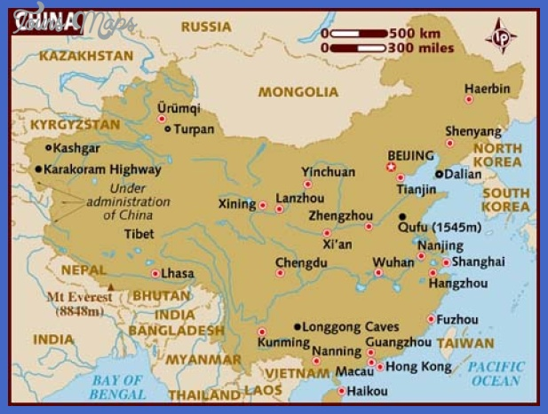 map of china China Map