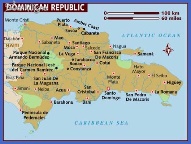 map of dominican republic Dominican Republic Map