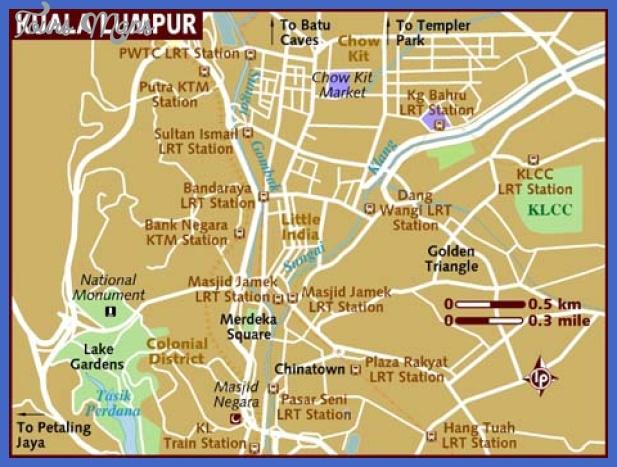 map of kuala lumpur Kuala Lumpur Metro Map