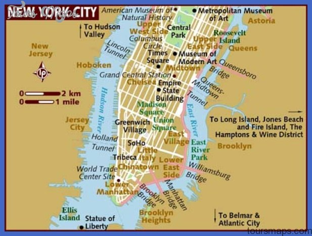 map of new york city New York Map