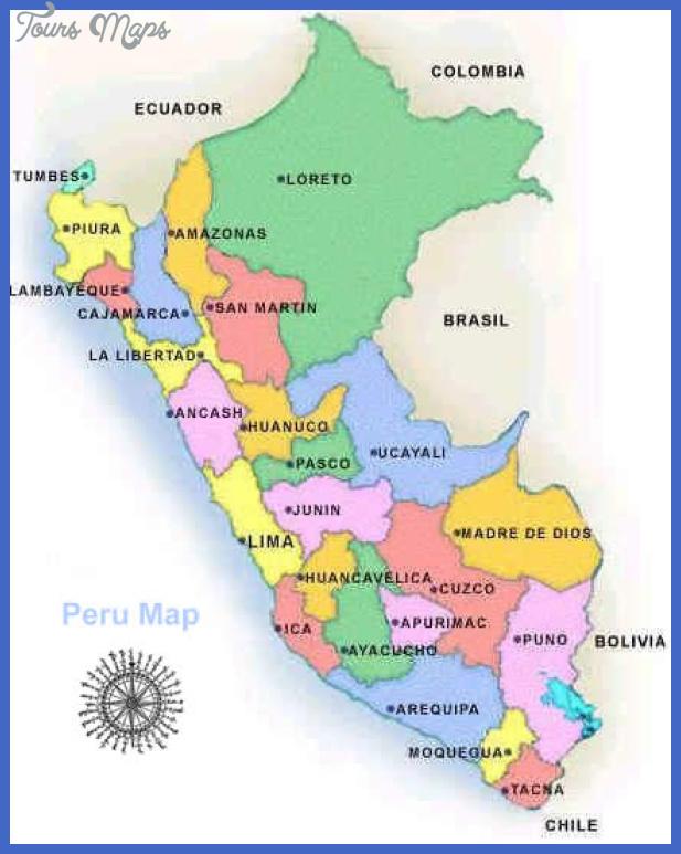 map peru Lima Map