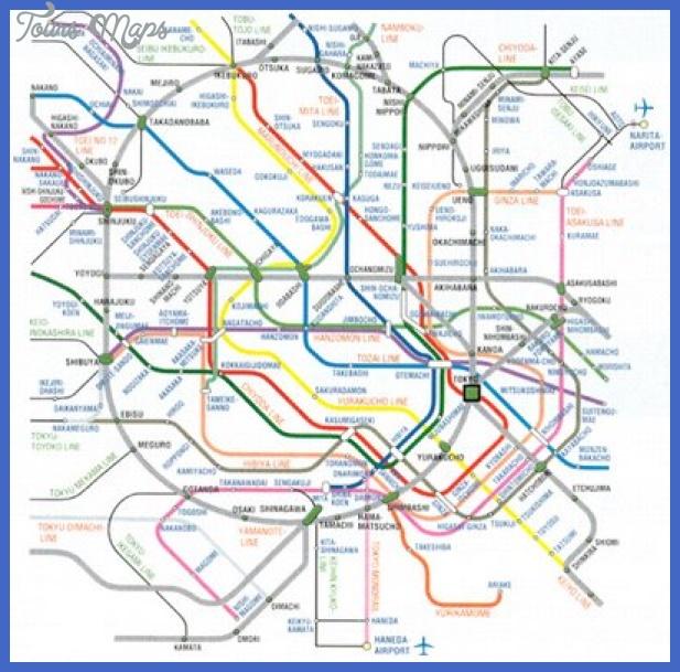 map tokyo subway North Las Vegas Subway Map