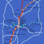mapa metro atlanta 150x150 Atlanta Subway Map