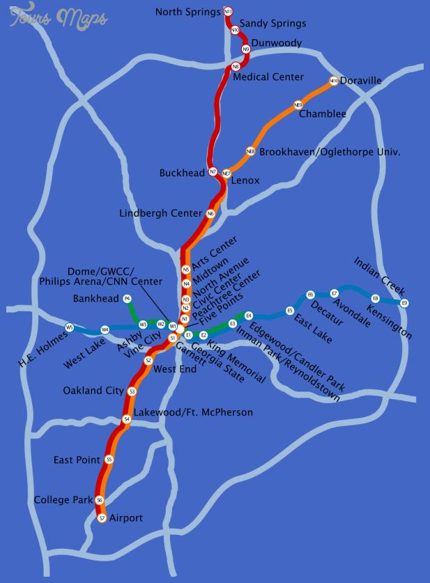 Atlanta Marta Subway Map Related Keywords Amp Suggestions