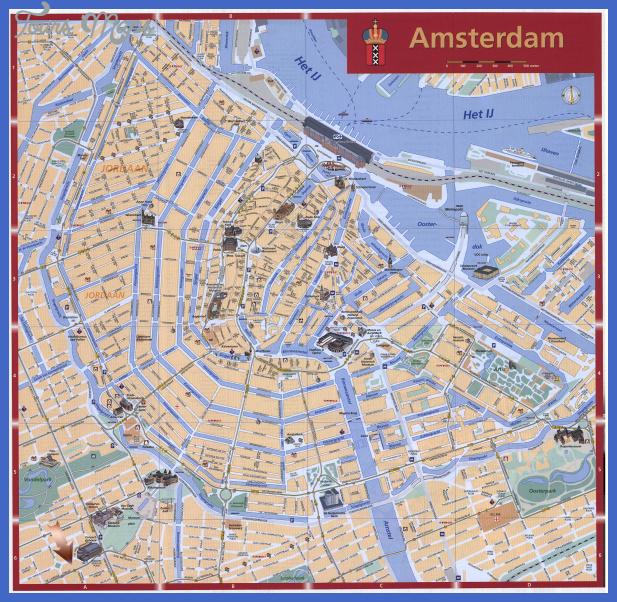 mapa turistico amsterdam Campinas Map Tourist Attractions