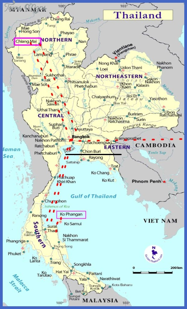mapa Burma Subway Map