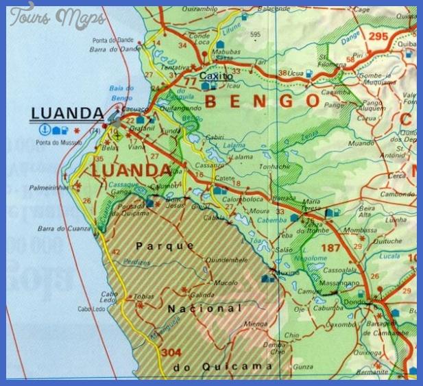 mapa angola Angola Subway Map