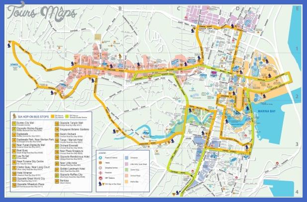 mapa cidade singapura Singapore Map