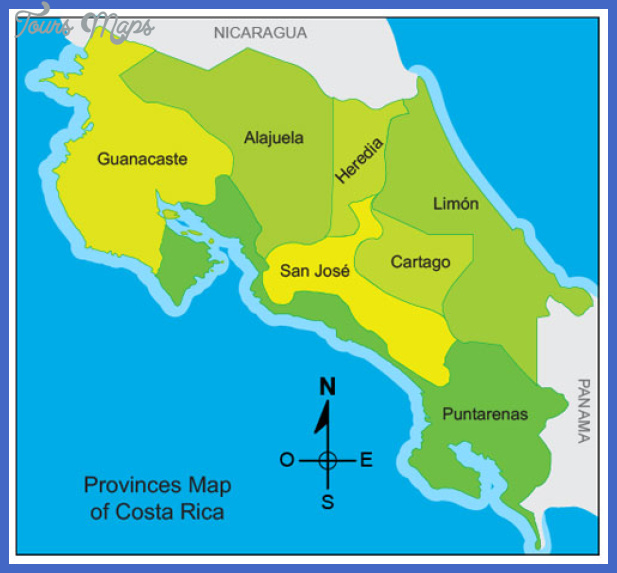 mapa costarica San Jose Subway Map