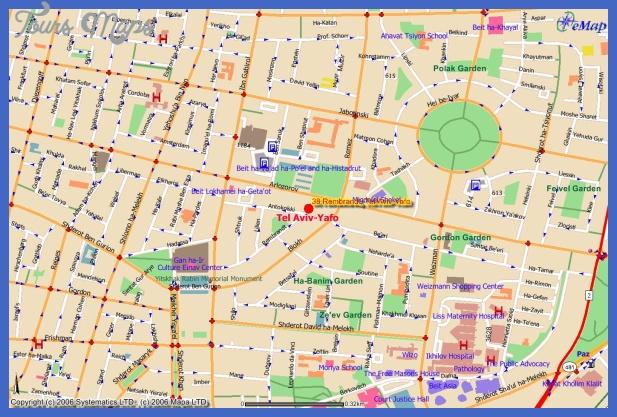 mapembasyoriginal Tel Aviv Metro Map