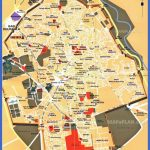 marrakech top tourist attractions map 02 central inner city must see places main landmark bahia palace saadian tombs high resolution 150x150 Morocco Map Tourist Attractions