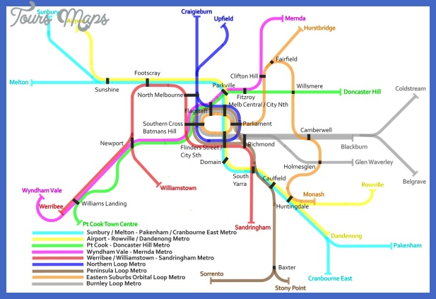 melbourne metro map  1 Melbourne Metro Map