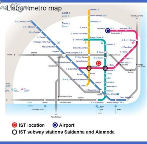 Subway Map Of Lisbon.Lisbon Metro Map Pdf