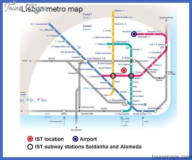 Subway Map Of Lisbon.Lisbon Metro Map Pdf Archives Toursmaps Com