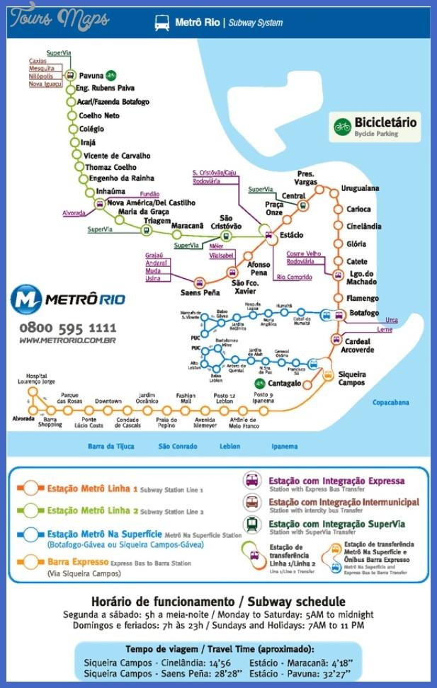metro 4 Rio de Janeiro Metro Map