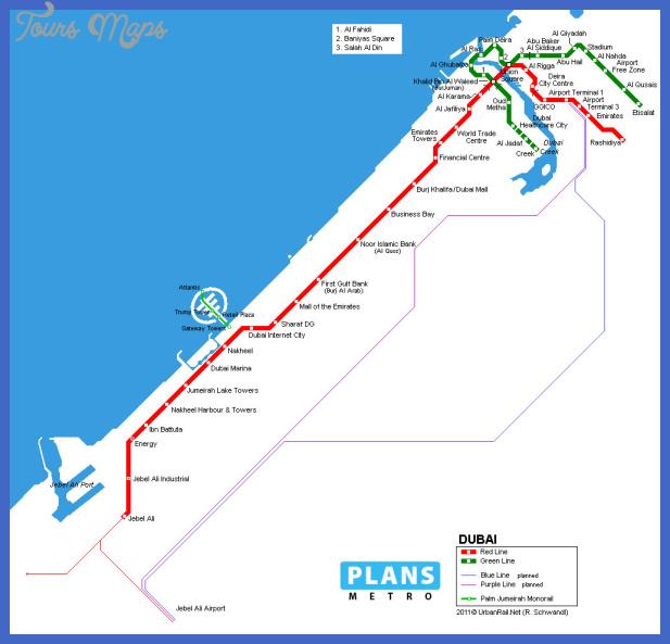 metro dubai Dubai Metro Map