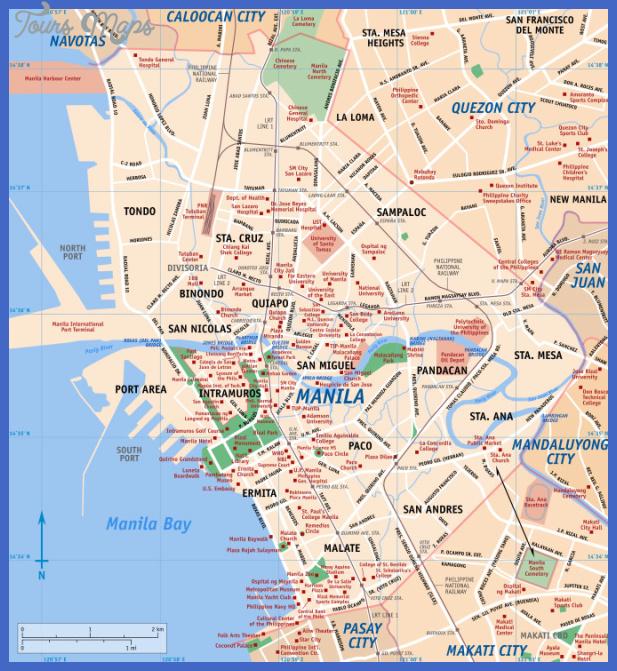 Mega Manila Subway Map.Manila Subway Map Toursmaps Com
