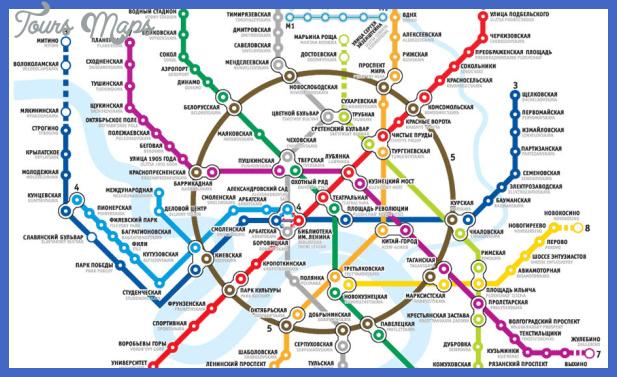metro map of moscow Tel Aviv Metro Map