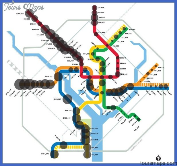 metro map Baltimore Metro Map