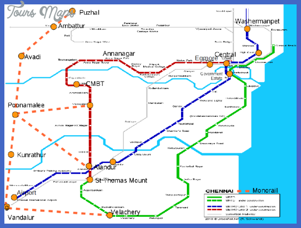metro rail map Chennai Metro Map