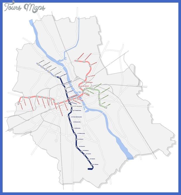 metro warsaw Warsaw Metro Map