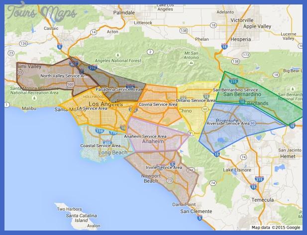metropolitan service map San Bernardino Metro Map
