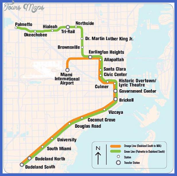 hialeah subway map - toursmaps